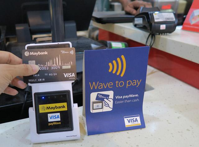 ویزا کارت payWave